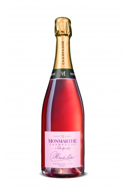 Champagne Ludés 1er Cru Brut Rosé - Champagne Monmarthe 0,75l