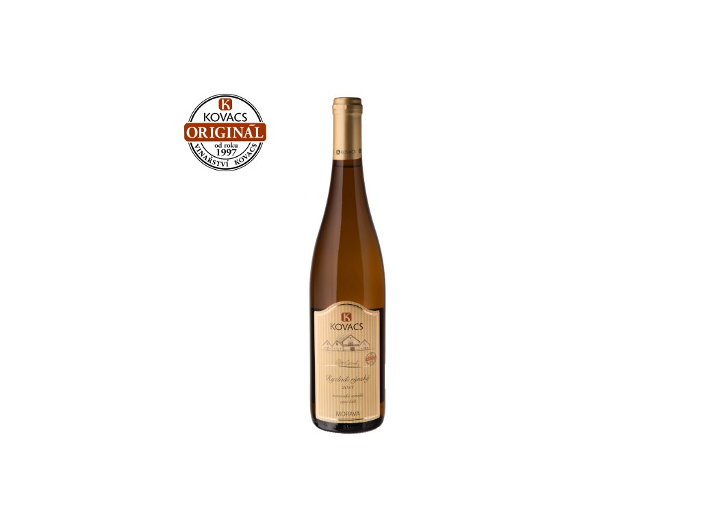 Ryzlink rýnský 0,75 moravské zemské víno
