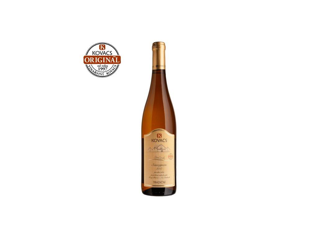 Sauvignon 0,75 pozdní sběr 09/17 Tradiční řada
