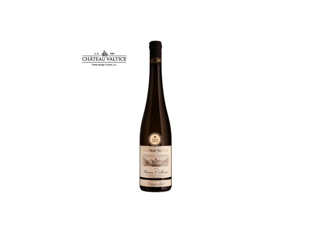 Tramín žlutý 0,75 moravské zemské víno 2019 Premium