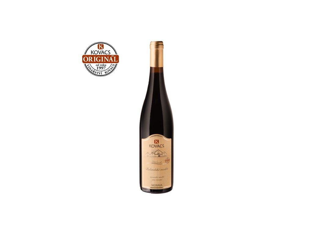 Rulandské modré 0,75 moravské zemské víno