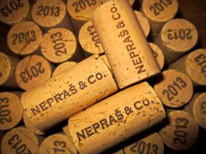 První lahvování - bílá vína ročníku 2013