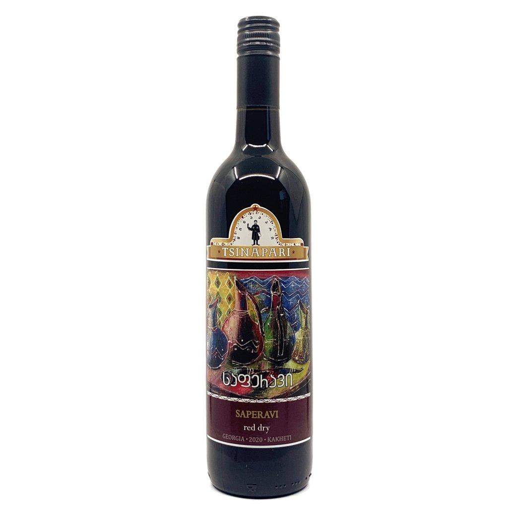 Saperavi červené gruzínské víno