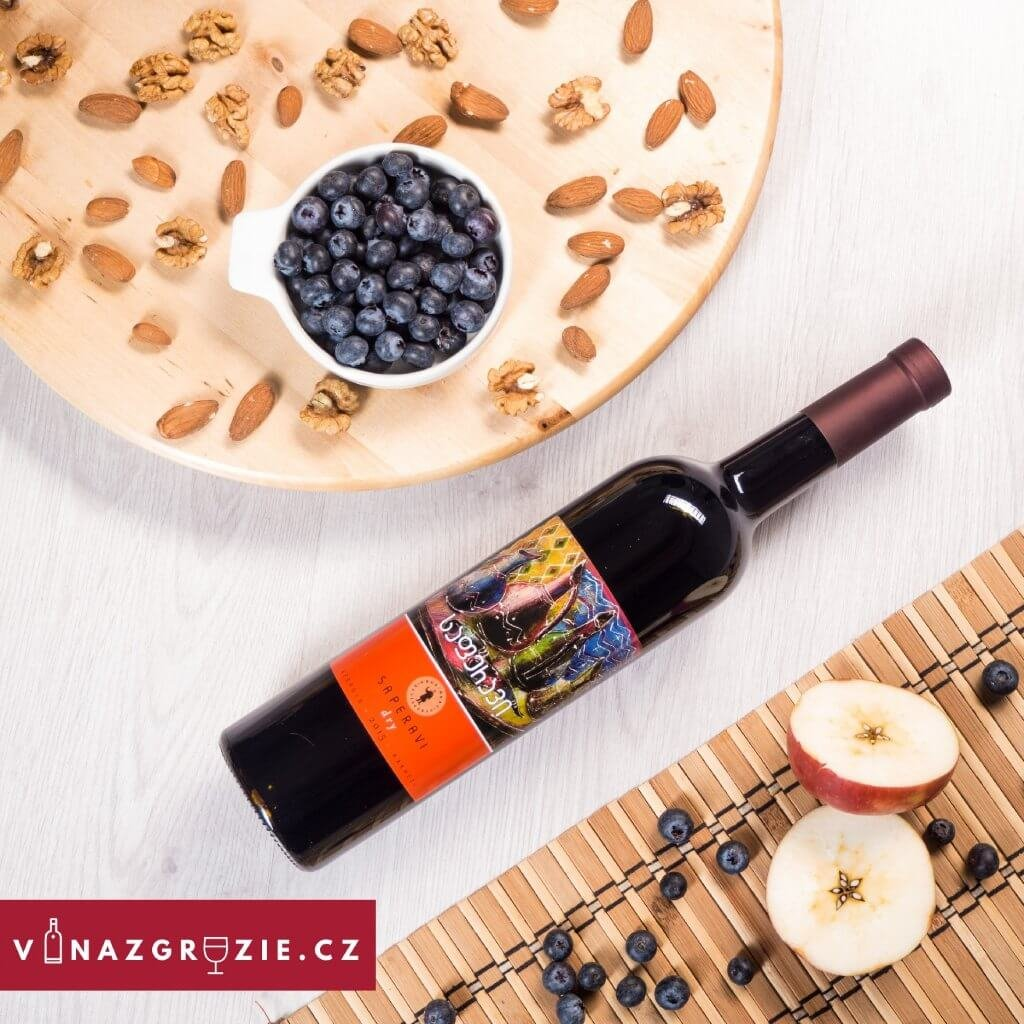 Degustační sada suchých gruzínských vín: 2x bílé 4x červené