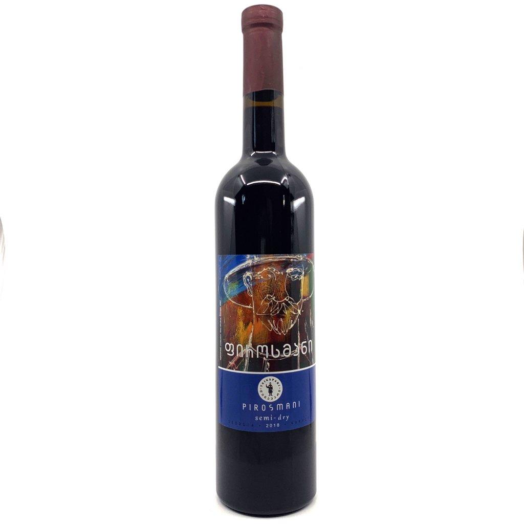 Tsinapari Пиросмани красное полусухое грузинское вино 2018 0,75l