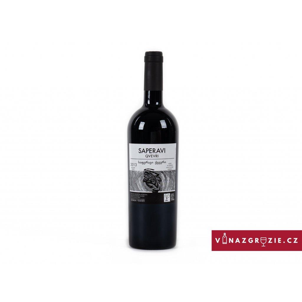saperavi qvevri kvevri červené gruzínské víno koupit