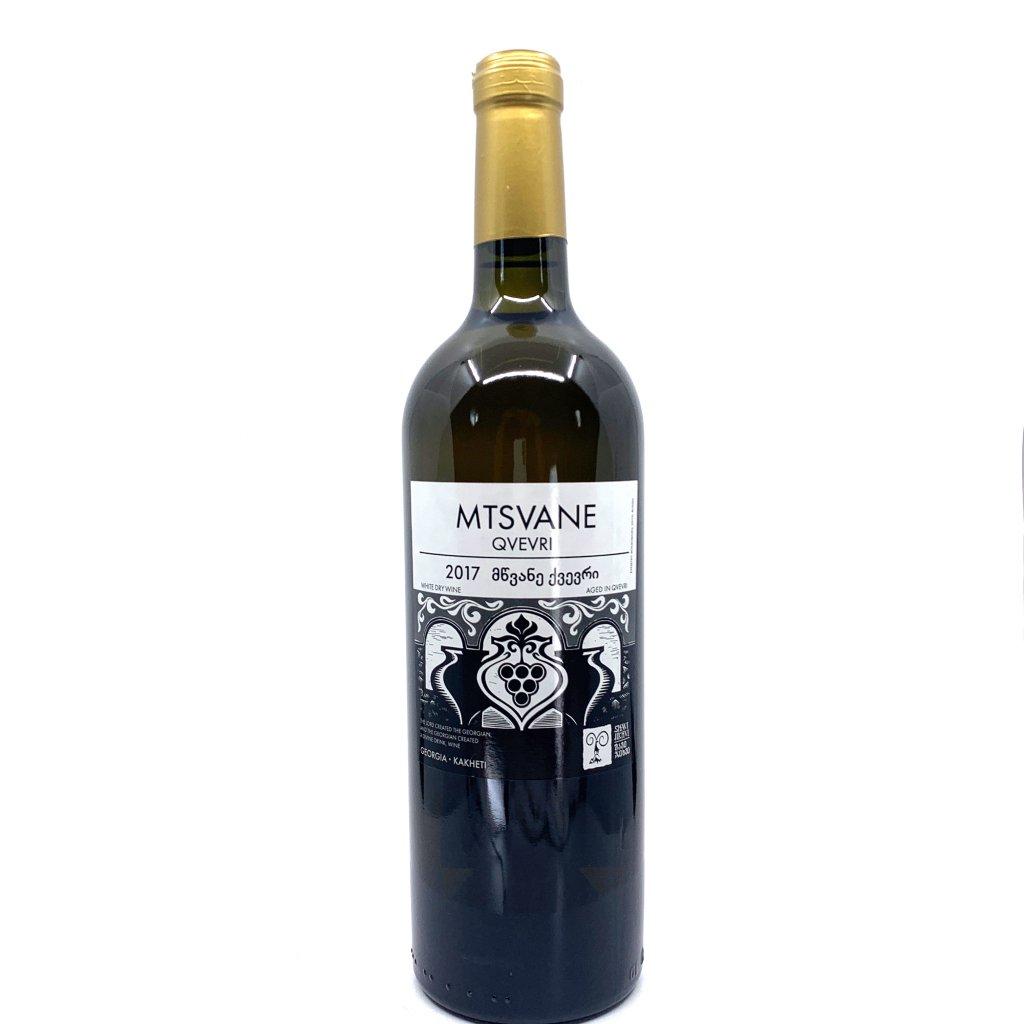 Shavi Jikhvi Мцване Квеври сухое белое (оранжевое) грузинское вино 2017 0,75л