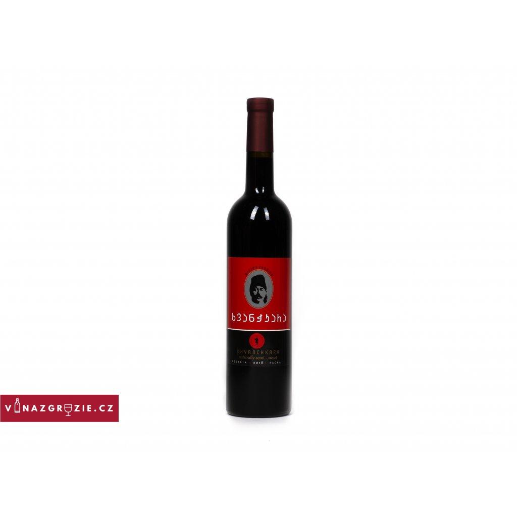 Gruzínské víno Khvanchkara