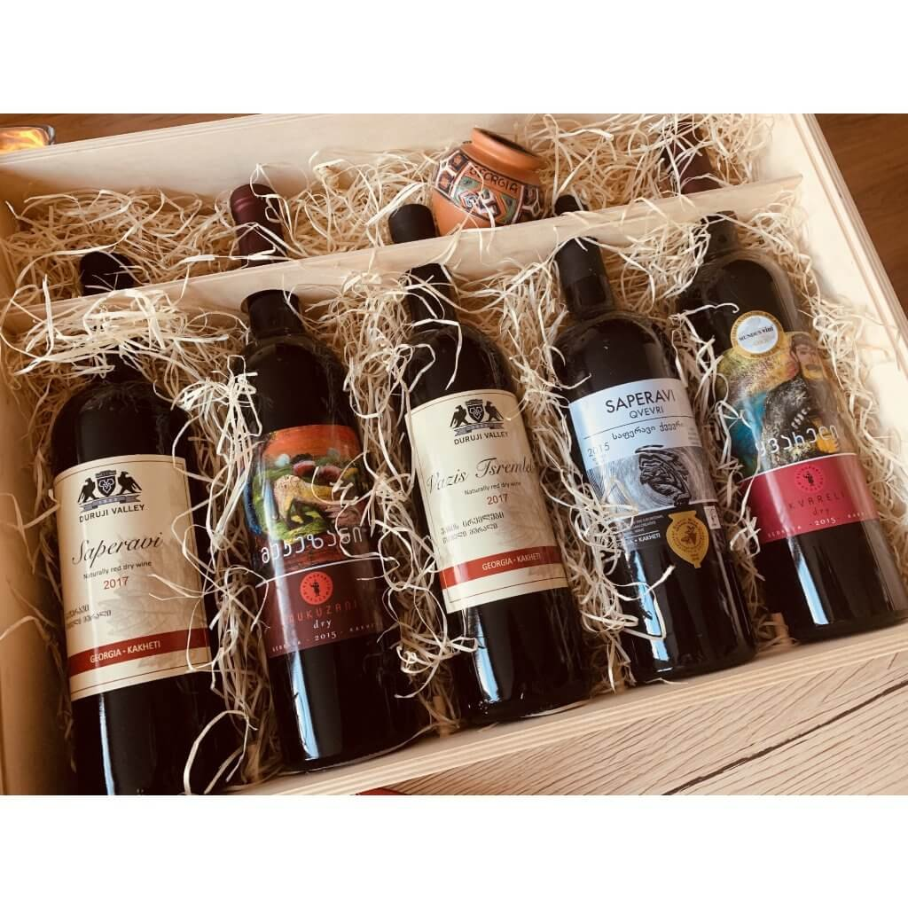 503 1 degustacni darkovy box cervenych barikovanych vin