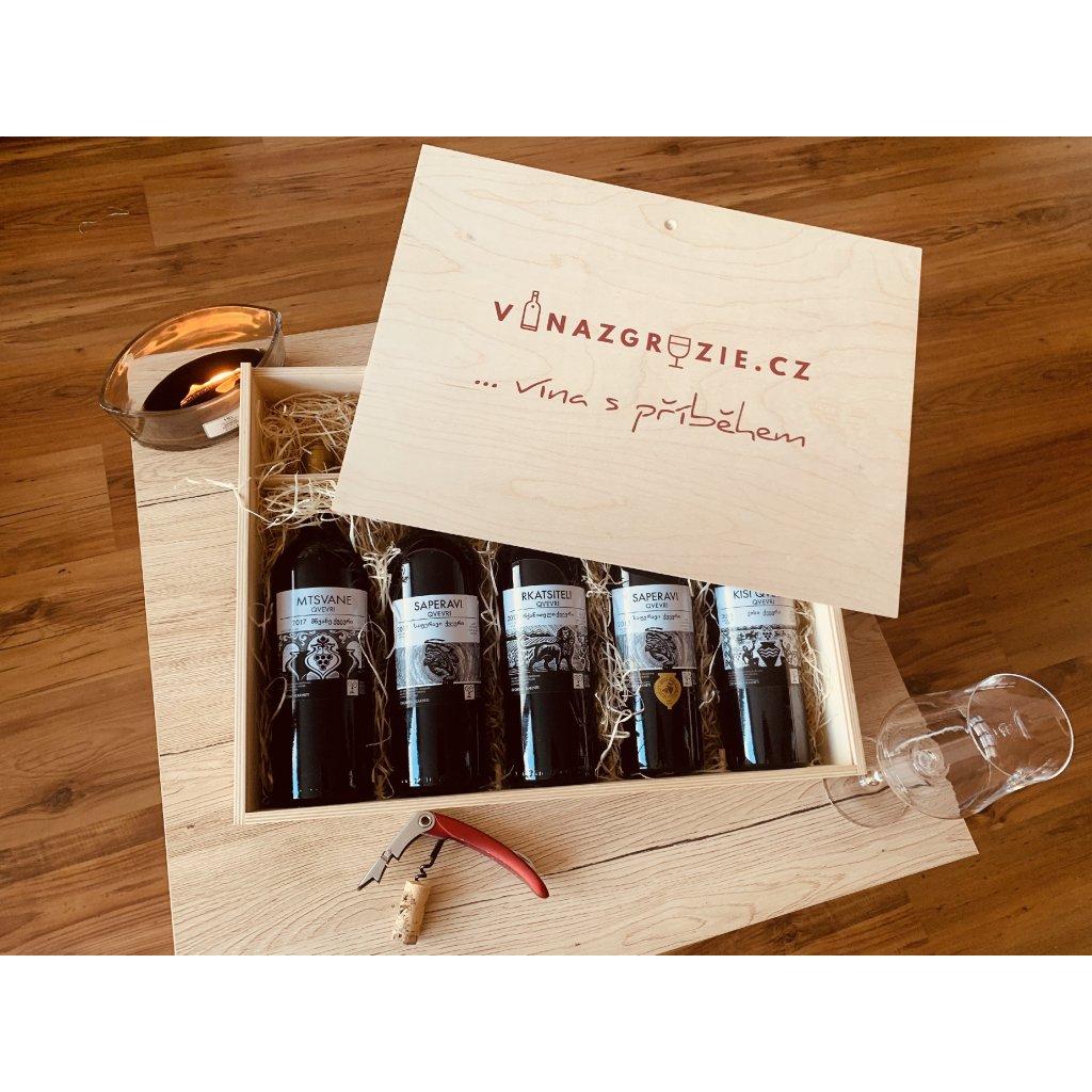 Degustační dárkový box Qvevri vín №1