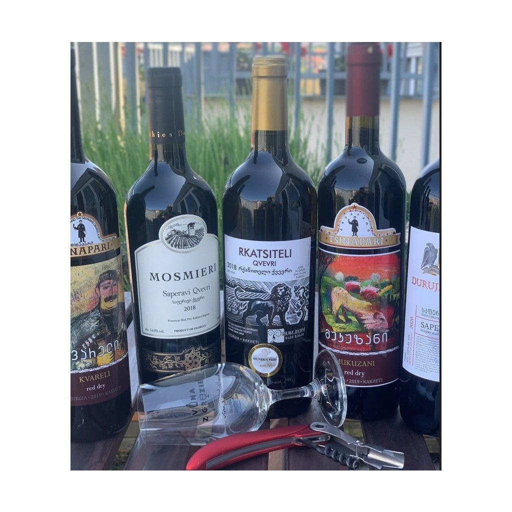 Degustační sada - seznámení s gruzínským vínem