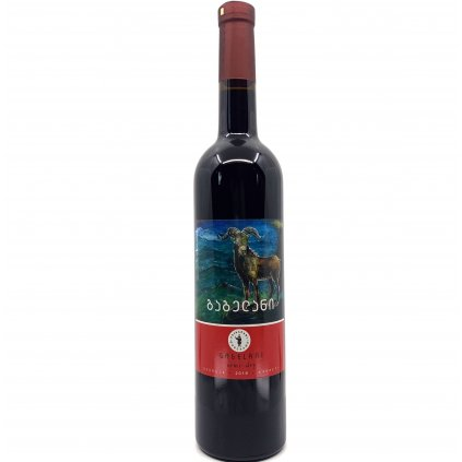 Tsinapari Гагелани красное полусухое грузинское вино 2019 0,75л