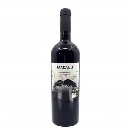 Shavi Jikhvi  Мараули красное полусухое грузинское вино 2016 0,75л
