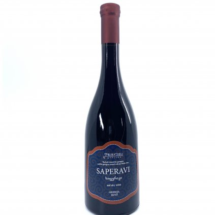 Tsiskari Саперави сухое красное грузинское вино 2018 0,75л