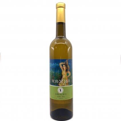Tsinapari Гагелани белое полусухое грузинское вино 2019 0,75л
