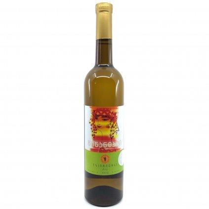 Tsinapari Цинандали белое сухое грузинское вино 2017 0,75л