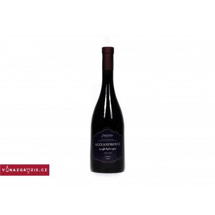 Tsiskari Alexandrouli suché gruzínské červené víno 2015 0,75l