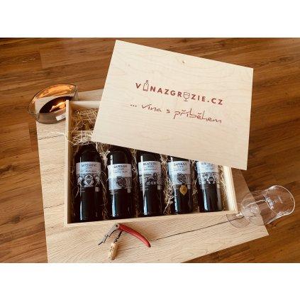 Degustační dárkový box autentických Qvevri vín №1