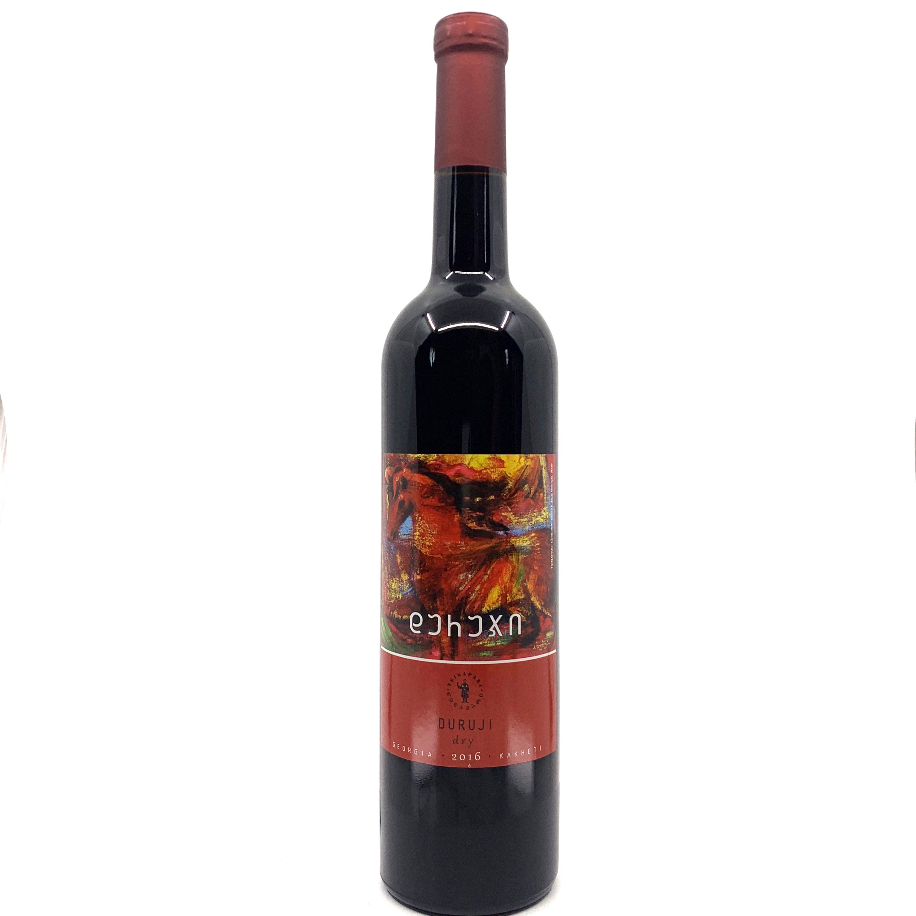 Grusignac Mukuzani suché gruzínské červené víno 2015 0,75l