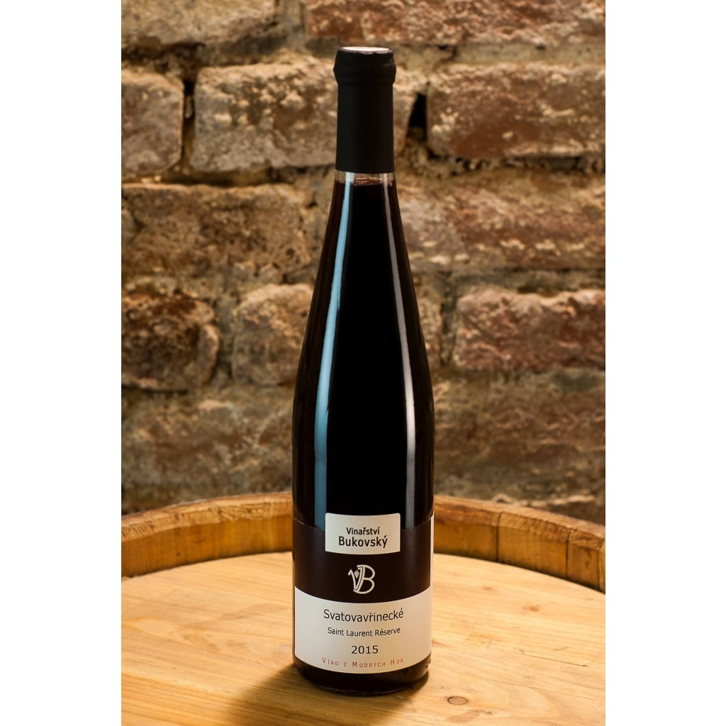 Svatovavřinecké 2015, suché červené víno