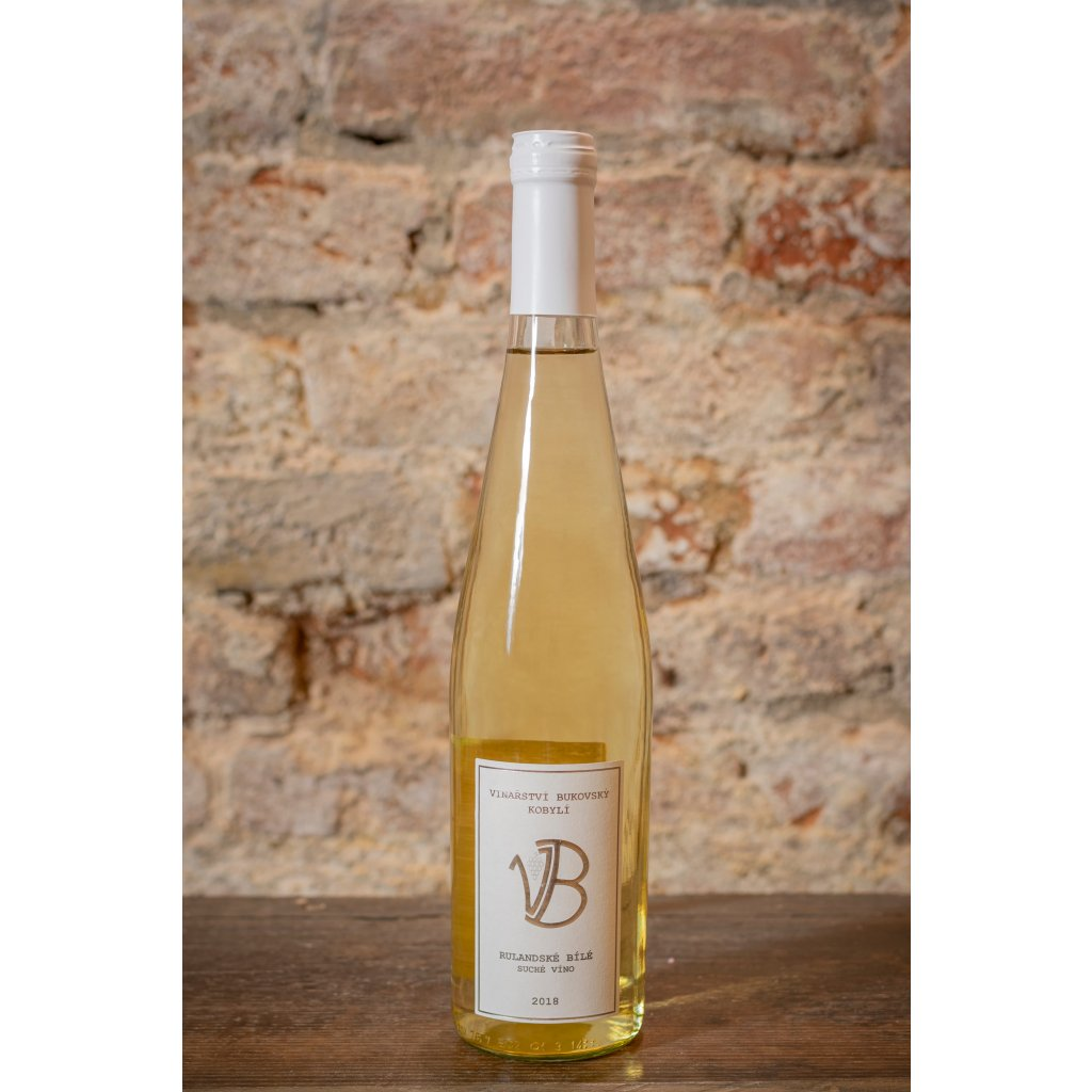 Rulandské bílé 2018, suché bílé víno