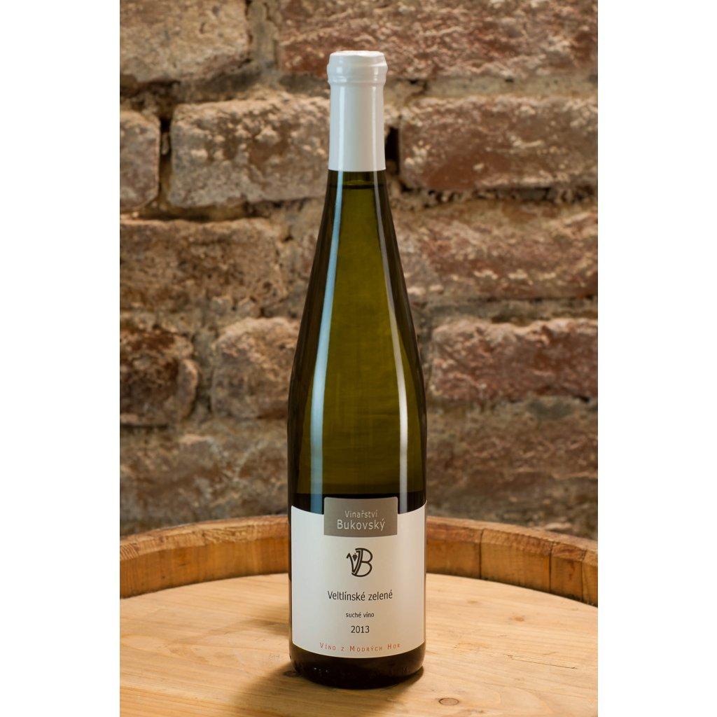 Veltlínské zelené 2013, suché bílé víno