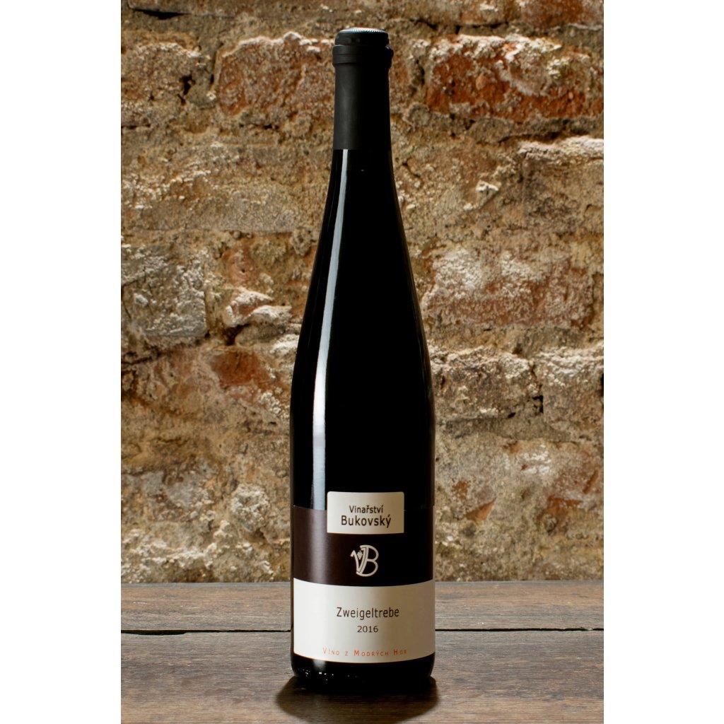 Zweigeltrebe 2016, suché červené víno