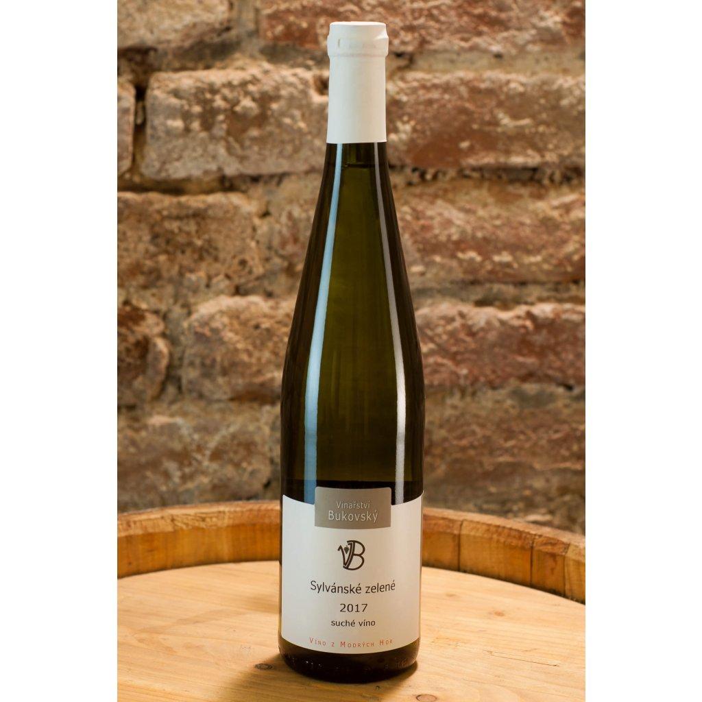 Sylvánské zelené 2017, suché bílé víno