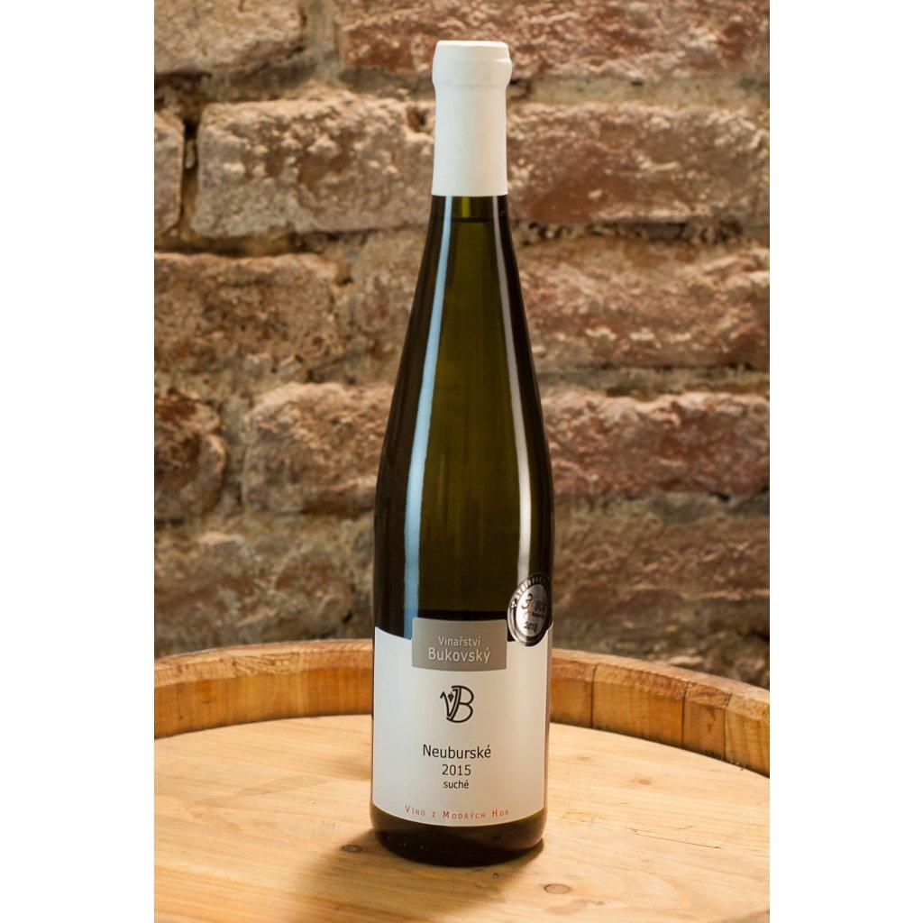 Neuburské 2015, suché bílé víno