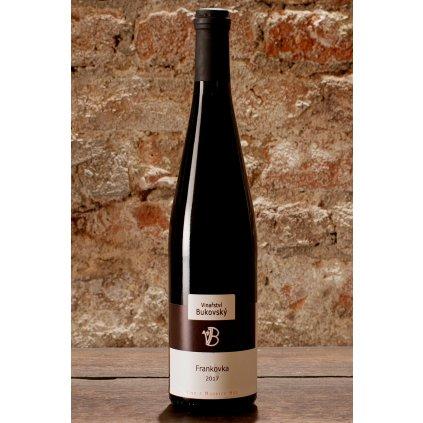 Frankovka 2017, suché červené víno