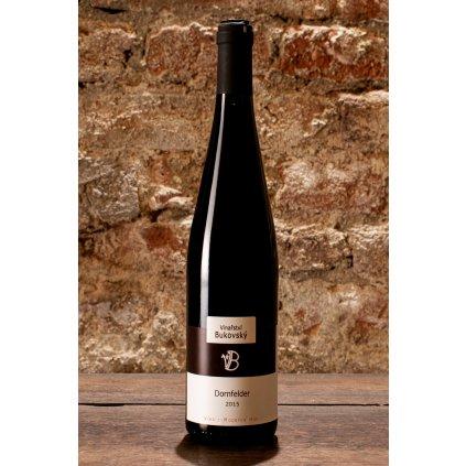 Dornfelder 2015, suché červené víno