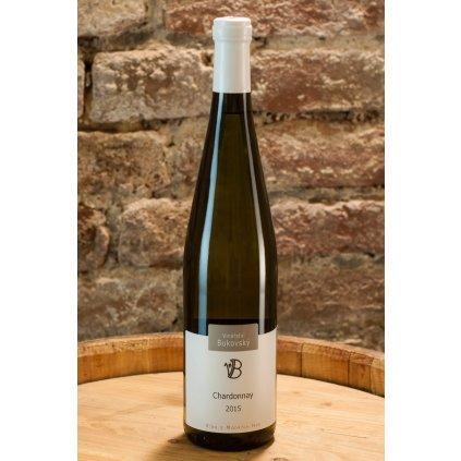 Chardonnay 2015, suché bílé víno