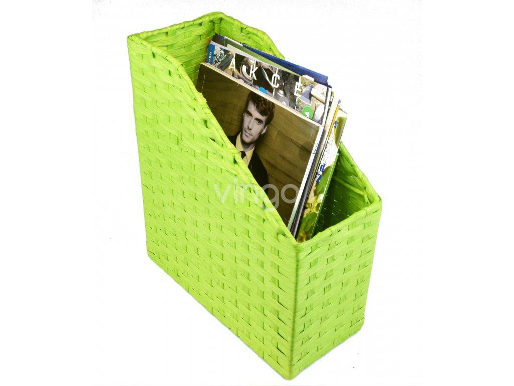 10541 poradac na casopisy zeleny