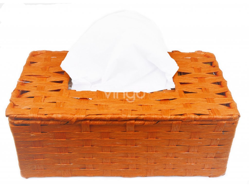 11774 box na kapesniky oranzovy