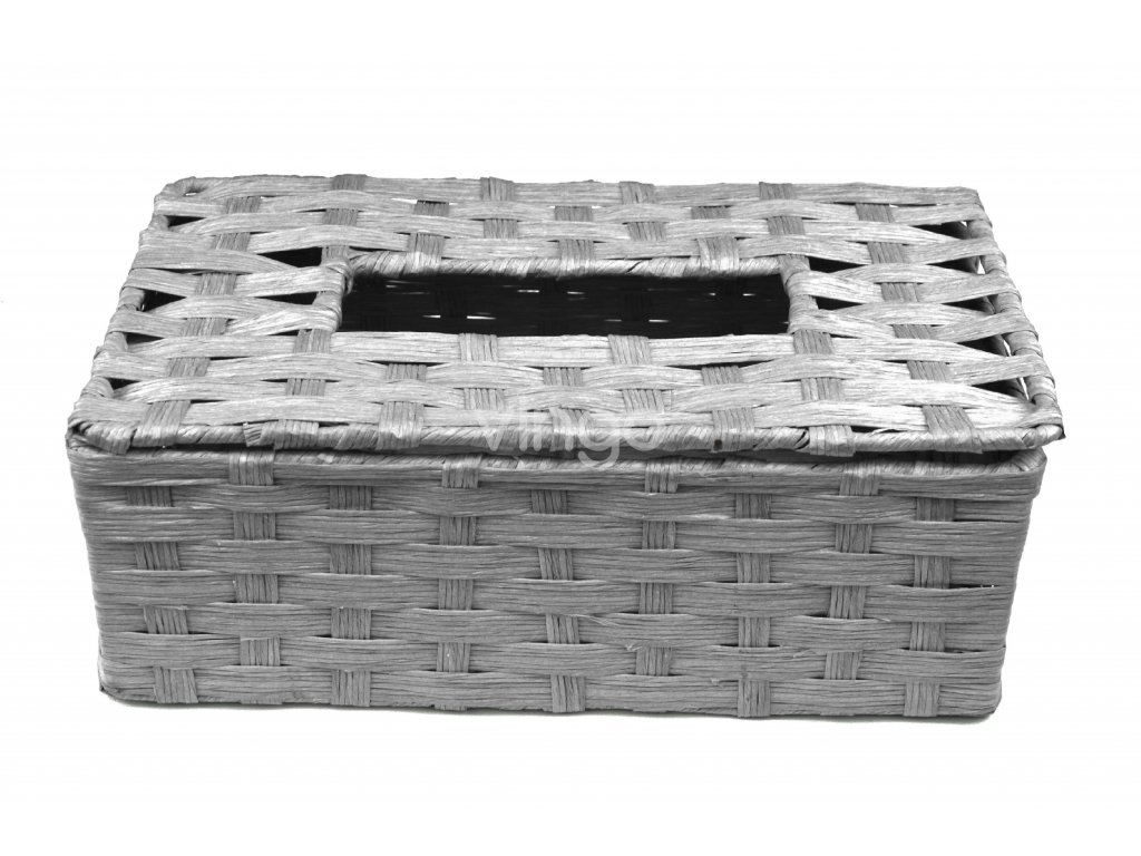 11801 box na kapesniky sedy