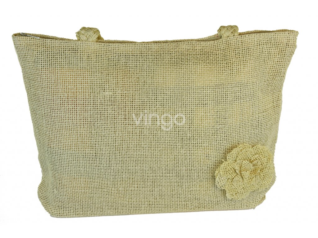 Letní taška s květinou