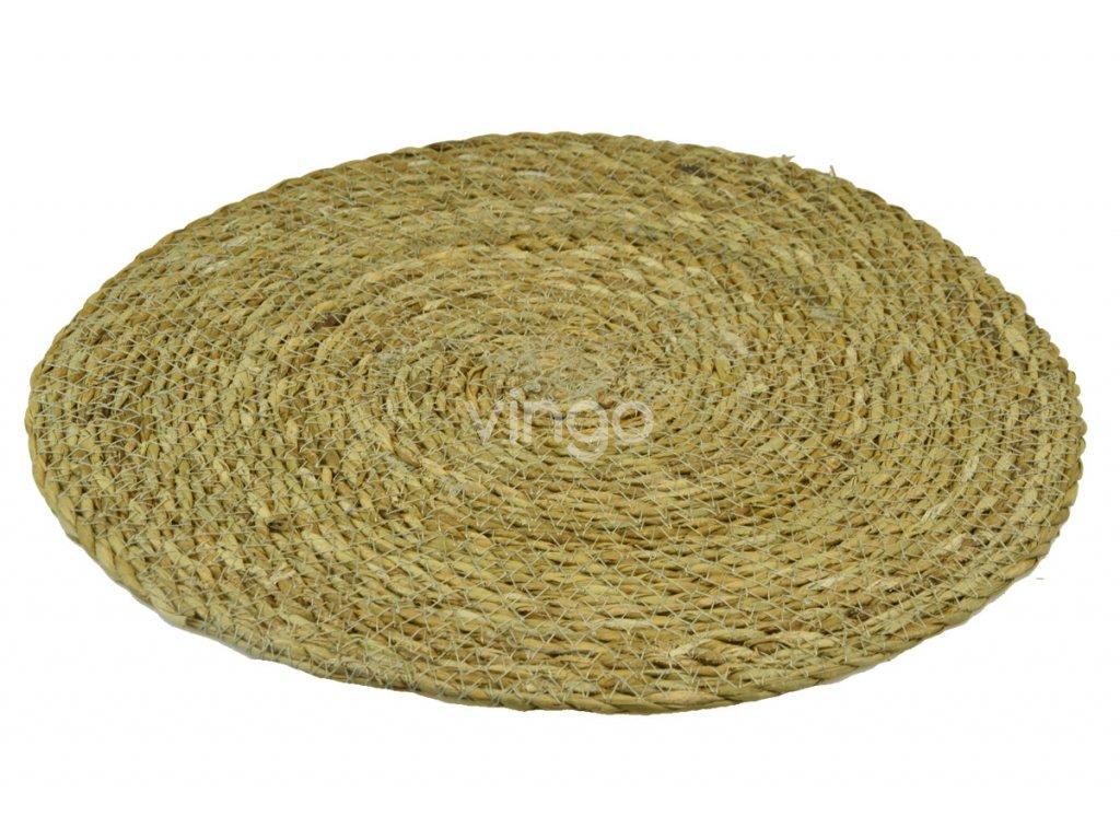 b24630c5433 Kulatý koberec z mořské trávy - Vingo