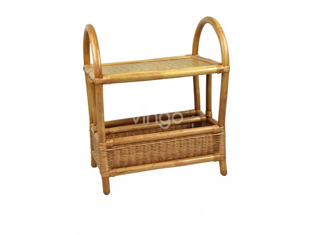 18038 ratanovy servirovaci stolek