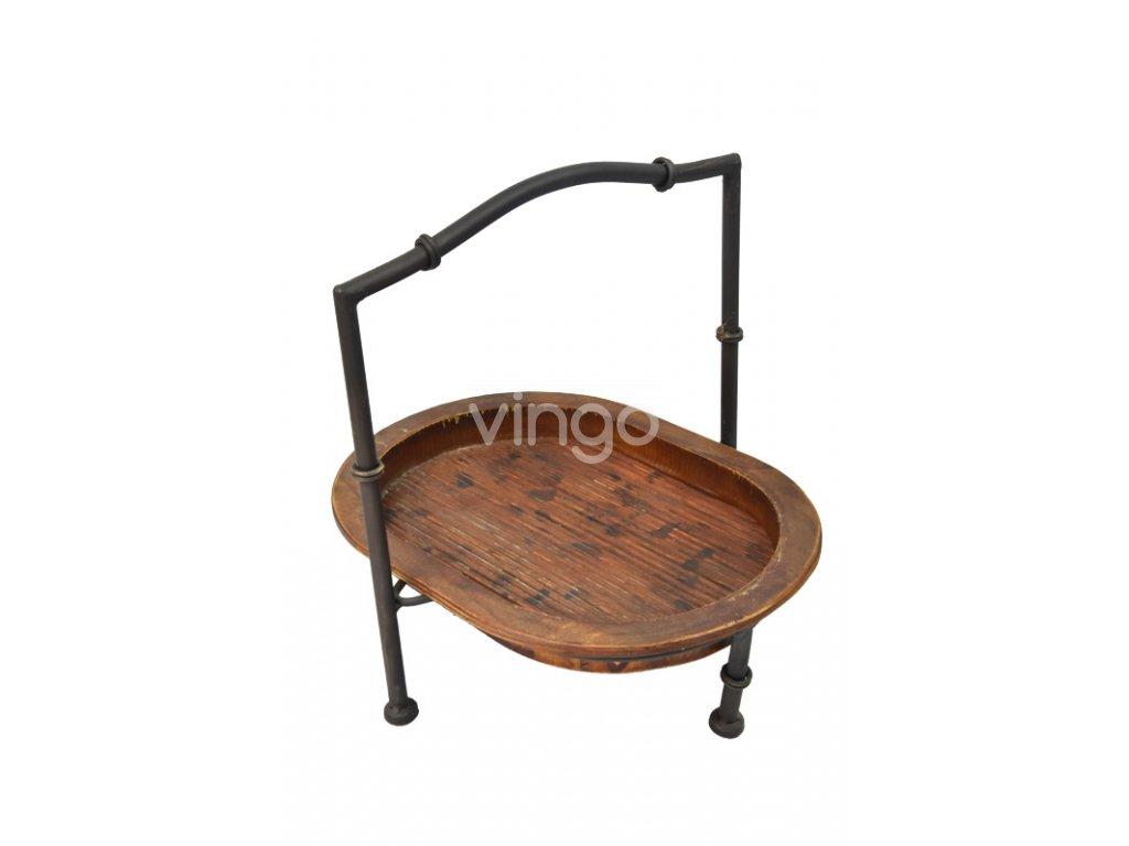 18776 3 prirucni stolek s 1 polickou