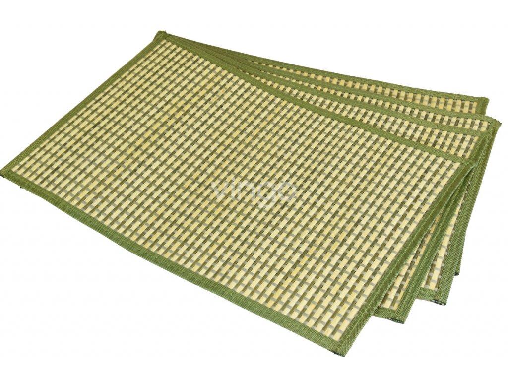 8351 4 prostirani zelenobile