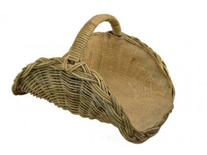 17301 1 ratanovy kos na krbove drevo vejir s pytlovinou