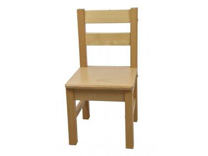 Dětská židlička – přírodní