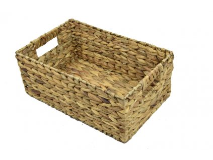 Úložný košík z hyacintu