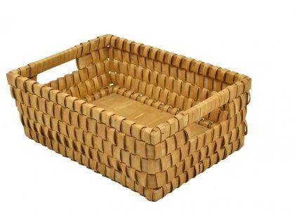 Úložný košík z dýhy