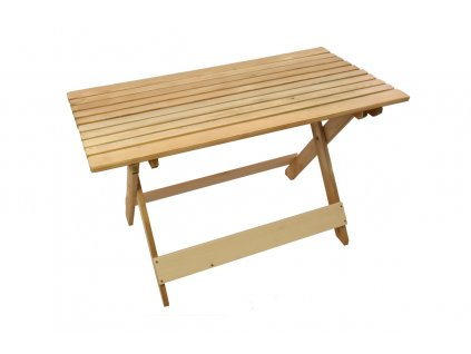 Skládací dřevěný stůl