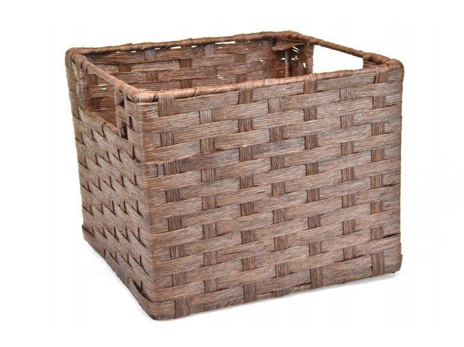 Sada 3 úložných boxů hnědých (rozměry boxu Sada  21x25x27|20x22x24|17x19x21)