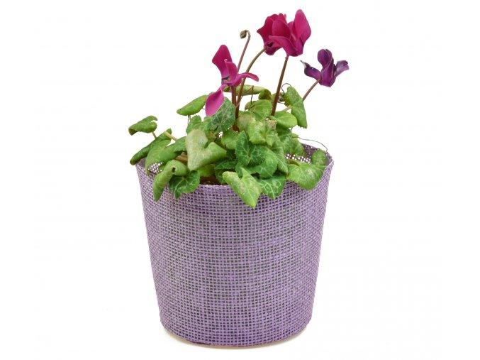Květináč fialový
