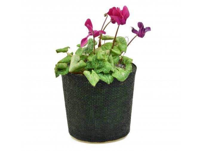 Květináč černý