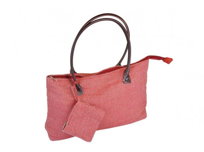 Letní taška červená
