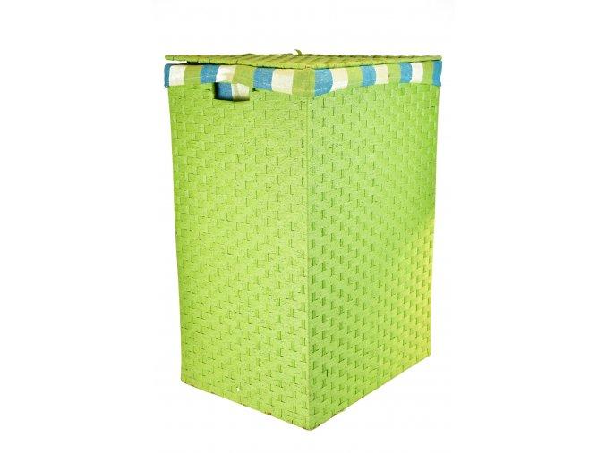 Koš na prádlo zelený (rozměry (cm) 36x26, v. 58)